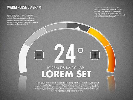 Warm Home Technology Diagram, Slide 11, 01818, Presentation Templates — PoweredTemplate.com