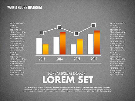 Warm Home Technology Diagram, Slide 16, 01818, Presentation Templates — PoweredTemplate.com