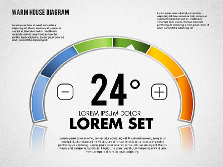 Warm Home Technology Diagram, Slide 3, 01818, Presentation Templates — PoweredTemplate.com