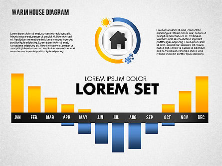 Warm Home Technology Diagram, Slide 4, 01818, Presentation Templates — PoweredTemplate.com