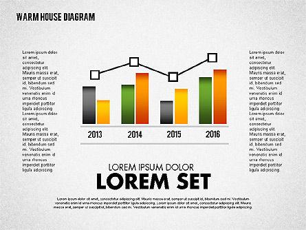 Warm Home Technology Diagram, Slide 8, 01818, Presentation Templates — PoweredTemplate.com