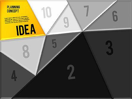 Production Planning Pieces Concept, Slide 11, 01827, Stage Diagrams — PoweredTemplate.com