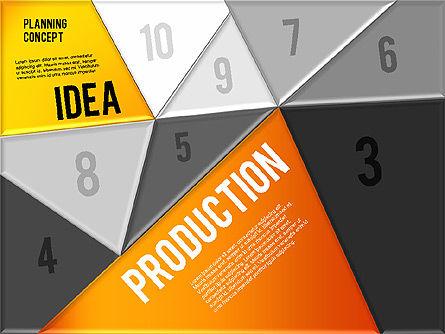 Production Planning Pieces Concept, Slide 12, 01827, Stage Diagrams — PoweredTemplate.com