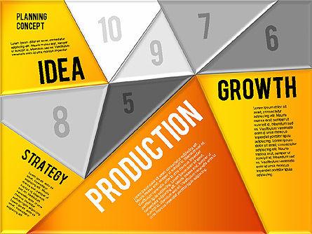 Production Planning Pieces Concept, Slide 14, 01827, Stage Diagrams — PoweredTemplate.com