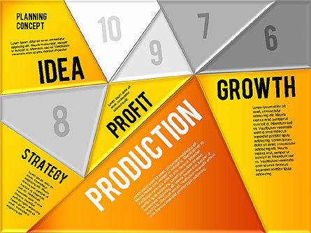 Production Planning Pieces Concept, Slide 15, 01827, Stage Diagrams — PoweredTemplate.com