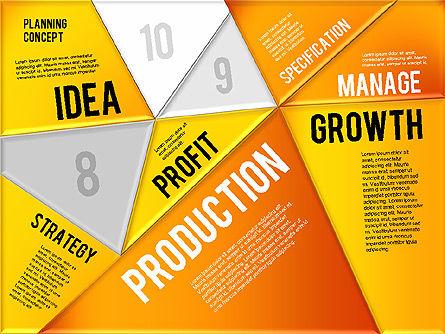 Production Planning Pieces Concept, Slide 17, 01827, Stage Diagrams — PoweredTemplate.com