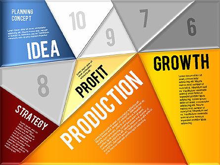 Production Planning Pieces Concept, Slide 5, 01827, Stage Diagrams — PoweredTemplate.com