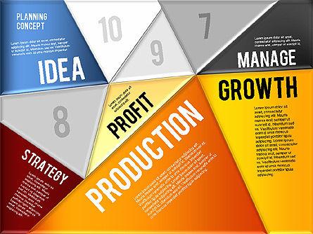 Production Planning Pieces Concept, Slide 6, 01827, Stage Diagrams — PoweredTemplate.com