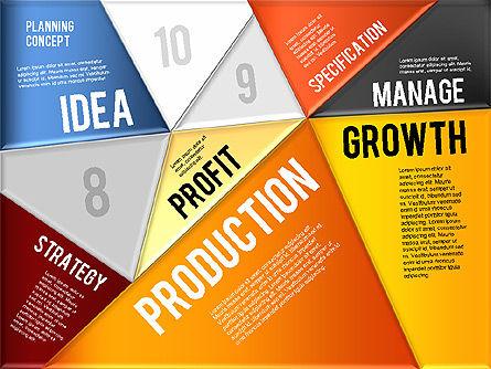 Production Planning Pieces Concept, Slide 7, 01827, Stage Diagrams — PoweredTemplate.com