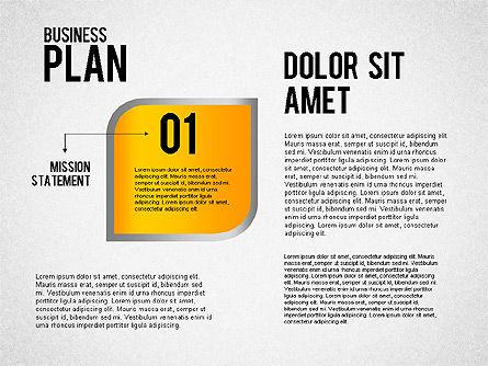 Business Plan Flow, Slide 2, 01828, Business Models — PoweredTemplate.com