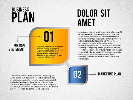 Business Plan Flow, Slide 3, 01828, Business Models — PoweredTemplate.com