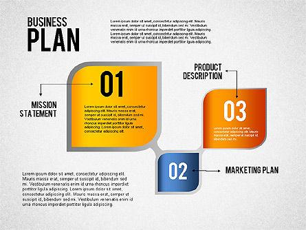 Business Plan Flow, Slide 4, 01828, Business Models — PoweredTemplate.com