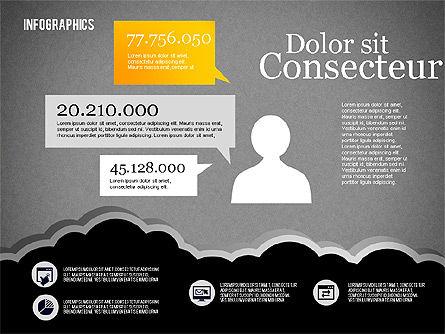 Infographics Diagram Set, Slide 10, 01829, Business Models — PoweredTemplate.com