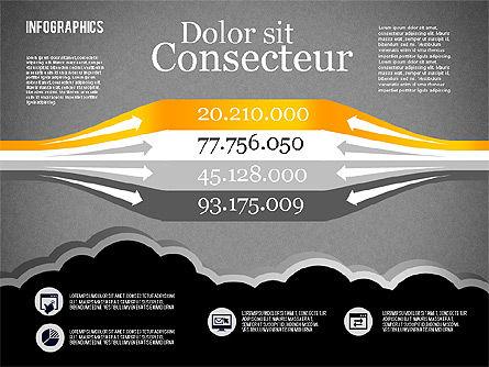 Infographics Diagram Set, Slide 11, 01829, Business Models — PoweredTemplate.com