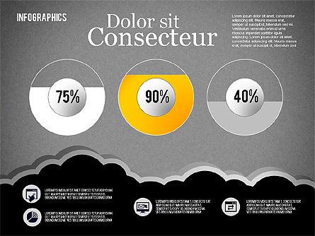 Infographics Diagram Set, Slide 12, 01829, Business Models — PoweredTemplate.com