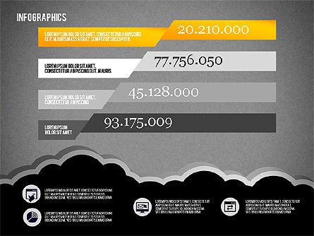 Infographics Diagram Set, Slide 13, 01829, Business Models — PoweredTemplate.com