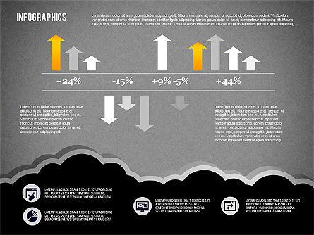 Infographics Diagram Set, Slide 14, 01829, Business Models — PoweredTemplate.com
