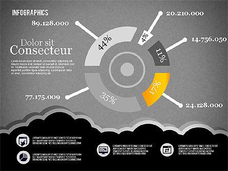 Infographics Diagram Set, Slide 15, 01829, Business Models — PoweredTemplate.com
