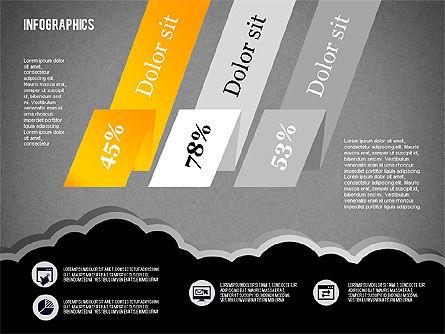 Infographics Diagram Set, Slide 16, 01829, Business Models — PoweredTemplate.com