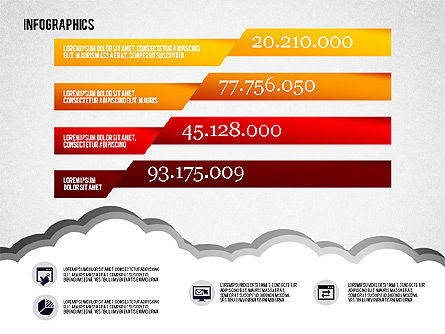 Infographics Diagram Set, Slide 5, 01829, Business Models — PoweredTemplate.com