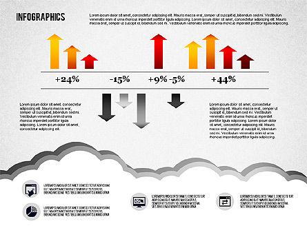Infographics Diagram Set, Slide 6, 01829, Business Models — PoweredTemplate.com
