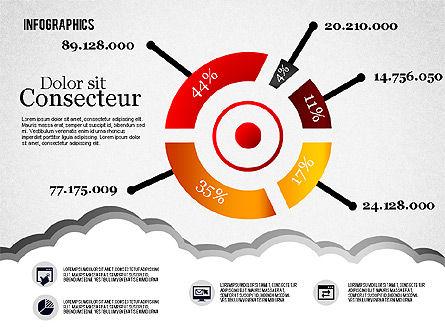 Infographics Diagram Set, Slide 7, 01829, Business Models — PoweredTemplate.com