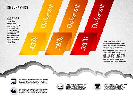 Infographics Diagram Set, Slide 8, 01829, Business Models — PoweredTemplate.com