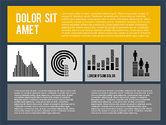 Presentation in Flat Design Style#11