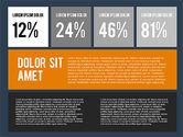 Presentation in Flat Design Style#13