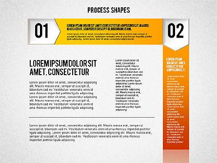 Step by Step Process Diagram, Slide 2, 01840, Process Diagrams — PoweredTemplate.com
