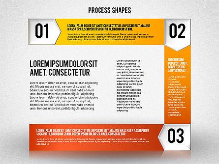 Step by Step Process Diagram, Slide 3, 01840, Process Diagrams — PoweredTemplate.com