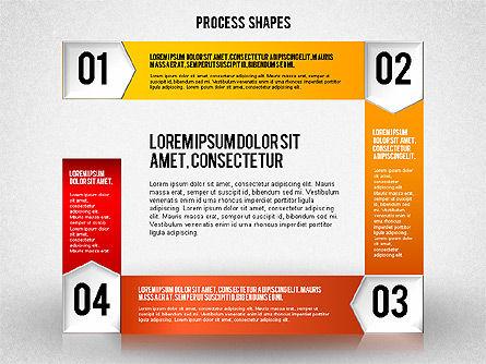 Step by Step Process Diagram, Slide 4, 01840, Process Diagrams — PoweredTemplate.com