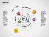 Business Models: Round Charts #01841
