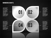 Numbered Shapes in Gray Color#10