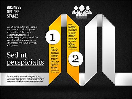 Zigzag Planning Options, Slide 10, 01845, Stage Diagrams — PoweredTemplate.com