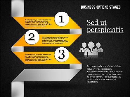 Zigzag Planning Options, Slide 15, 01845, Stage Diagrams — PoweredTemplate.com