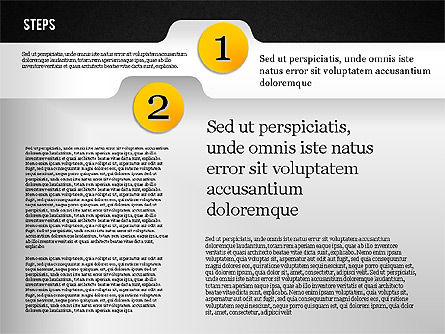 Folder Style Options, Slide 14, 01849, Stage Diagrams — PoweredTemplate.com