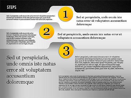 Folder Style Options, Slide 15, 01849, Stage Diagrams — PoweredTemplate.com