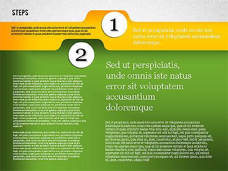 Folder Style Options, Slide 6, 01849, Stage Diagrams — PoweredTemplate.com