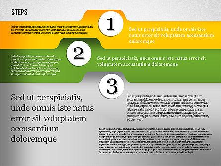 Folder Style Options, Slide 7, 01849, Stage Diagrams — PoweredTemplate.com