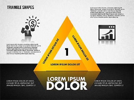 Triangle Shapes Diagram, Slide 2, 01851, Business Models — PoweredTemplate.com