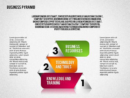 Business Pyramid Diagram Slide 3
