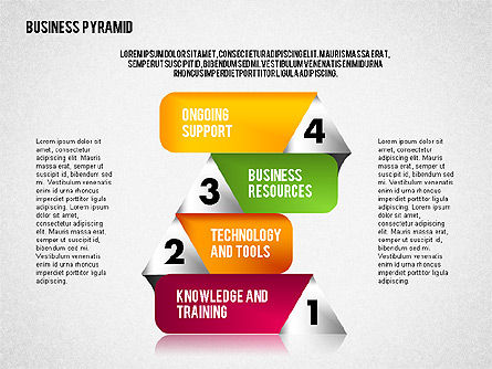 Business Pyramid Diagram Slide 4