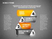 Business Pyramid Diagram#12