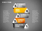 Business Pyramid Diagram#13