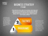 Business Pyramid Diagram#15