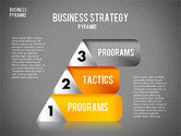Business Pyramid Diagram#16