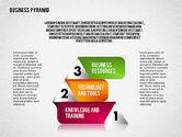 Business Pyramid Diagram#3