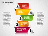 Business Pyramid Diagram#5