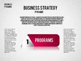 Business Pyramid Diagram#6